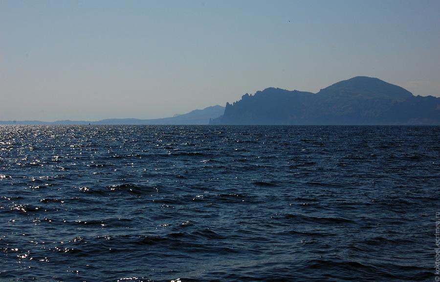 Коктебель, с моря и гор