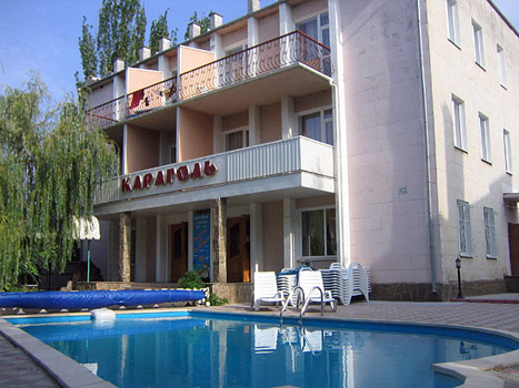 гостиница Караголь, Коктебель